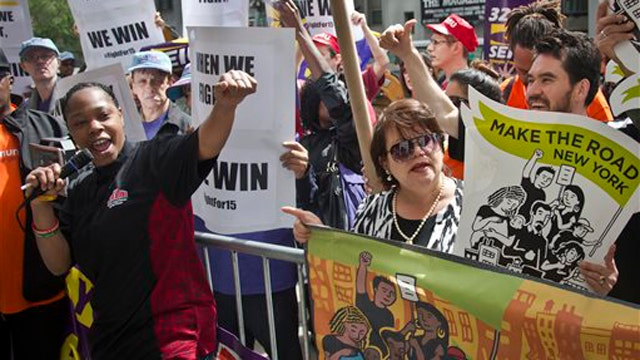 Grapevine: Classic bait-and-switch over minimum wage