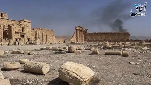 ISIS executes captives at site of Roman ruins in Palmyra