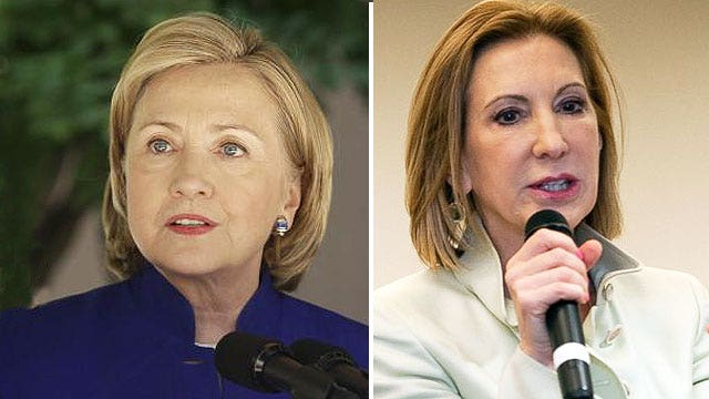 Who's the more serious candidate: Clinton or Fiorina?