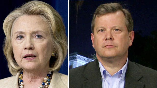 Peter Schweizer on Hillary's 'massive conflict of interest'