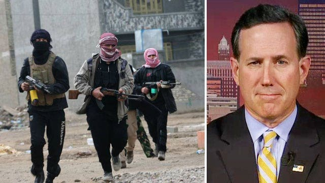Rick Santorum sounds off on Iraq crisis, immigration