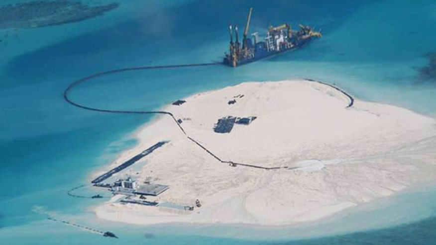 Evidence points to military base in the middle of South China Sea
