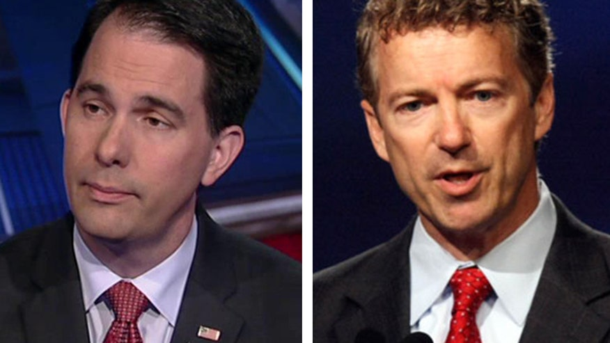 Wisconsin governor on Kentucky senator's claim that GOP 'hawks' created the terror network