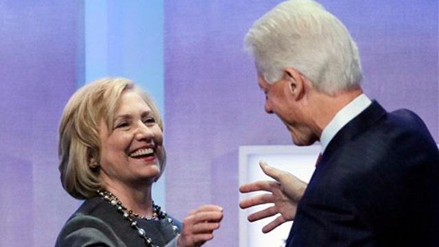 Is Hillary Clinton hiding Bill?
