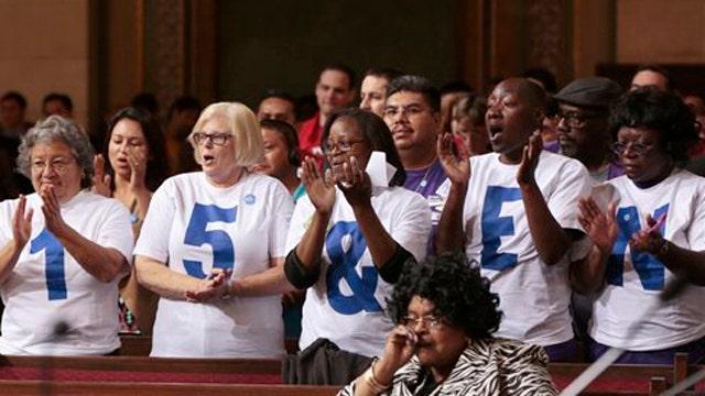 Unions seek exemption from LA minimum wage law