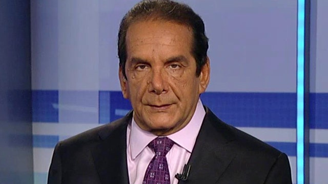 Krauthammer on China, its artillery, artificial islands