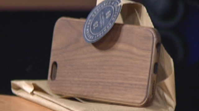 An iPhone case made of real wood?