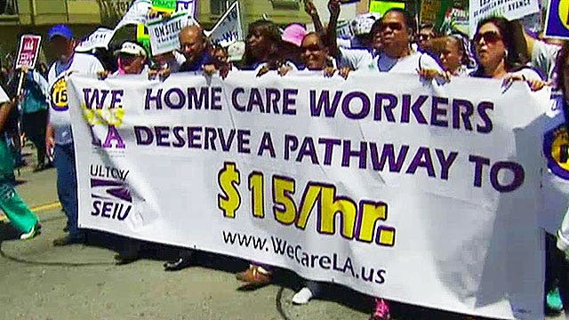 LA labor unions pushing for exemption from minimum wage hike