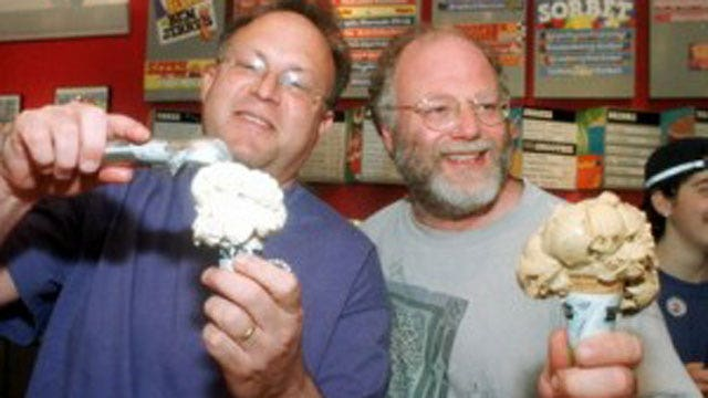 Alan Colmes and Ben & Jerry