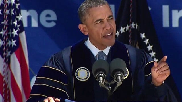 Do political agendas have a place in commencement speeches?