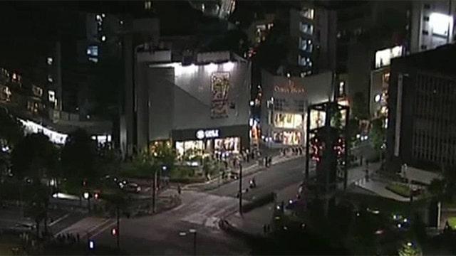 7.8 magnitude earthquake strikes off the coast of Japan
