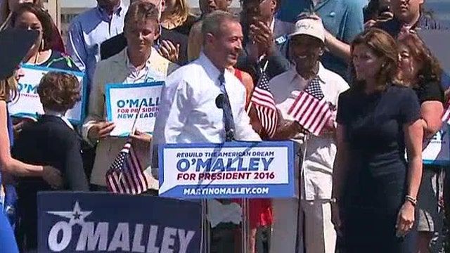 What does Martin O'Malley's announcement mean for 2016?