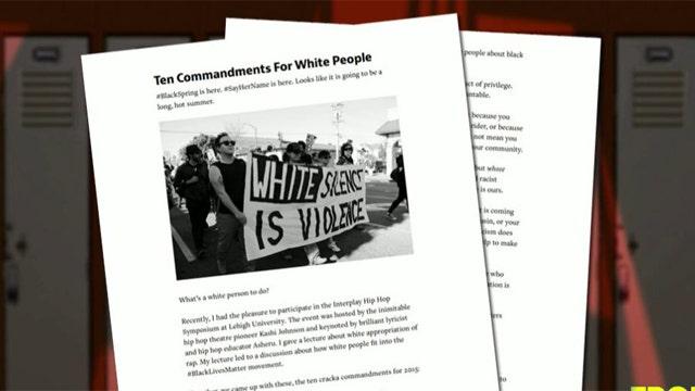 Professor publishes 'Ten Cracka Commandments'