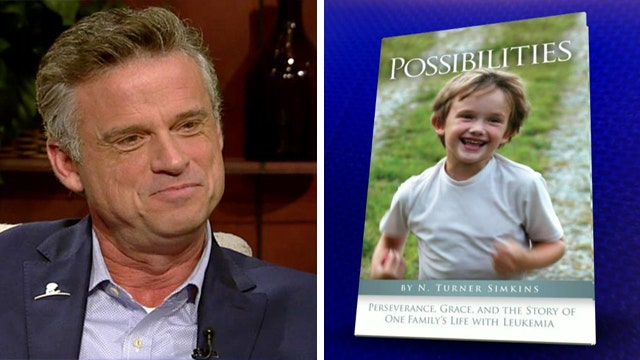 Father pens book about son's battle with cancer
