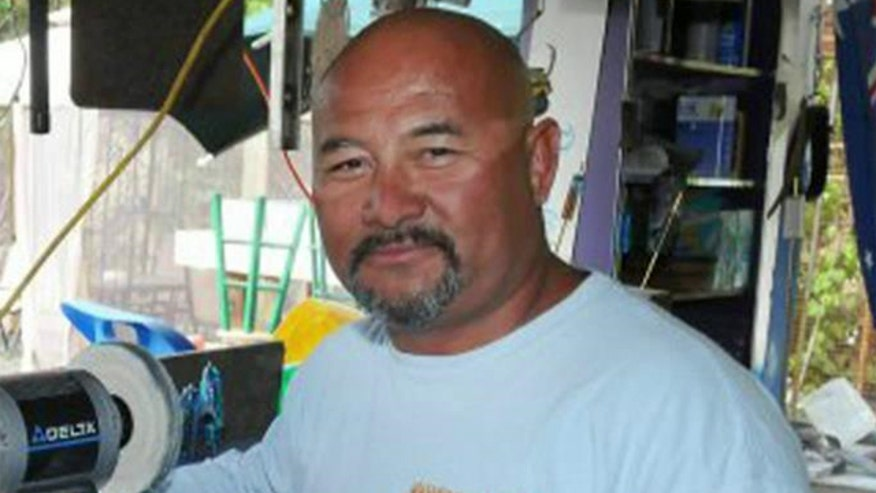 Randy Llanes was punctured in the chest by the swordfish while spearfishing