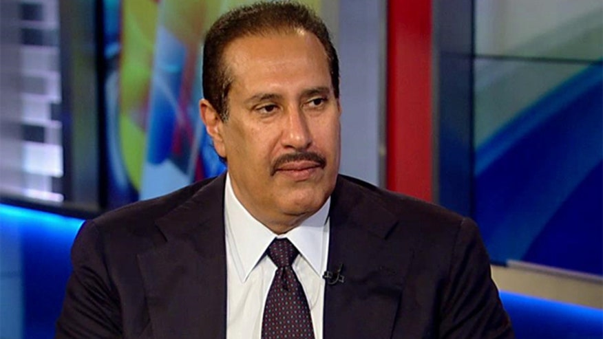Sheik Hamad bin Jassim bin Jaber Al Thanir on 'Sunday Morning Futures'