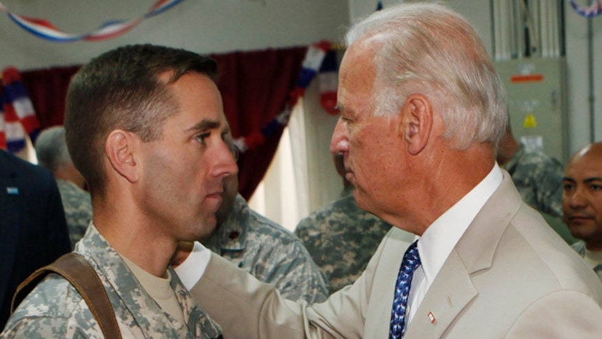 Beau Biden's cancer was first diagnosed in 2013