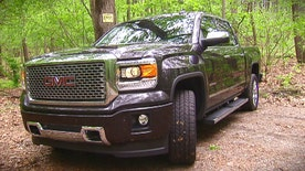 The 2015 GMC Sierra 1500 Denali is ready to step out with a fancy new set of suspenders.