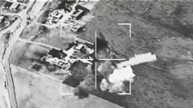 US bombers returning to base without firing on ISIS targets
