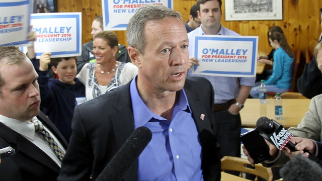 Martin O'Malley begins campaigning in Iowa and New Hampshire