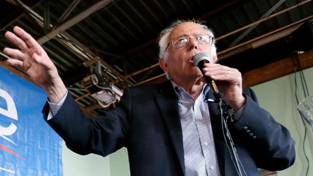 Senator Bernie Sanders gaining momentum in Iowa