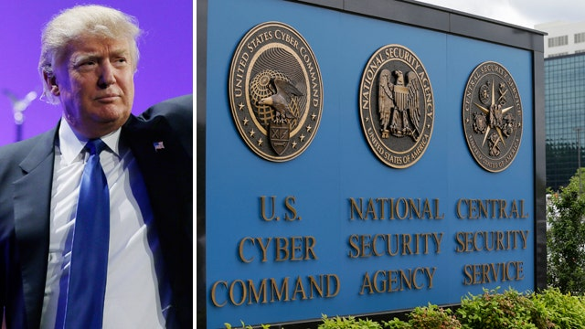 Donald Trump on the need for NSA phone data collection