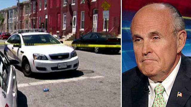 Rudy Giuliani on Baltimore's surge in homicides
