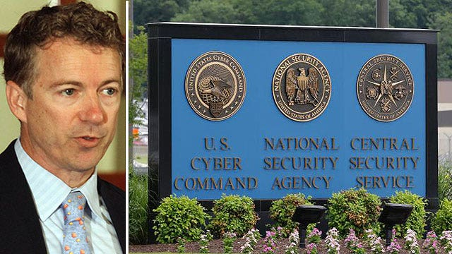 Rand Paul vs. GOP presidential field on surveillance tools