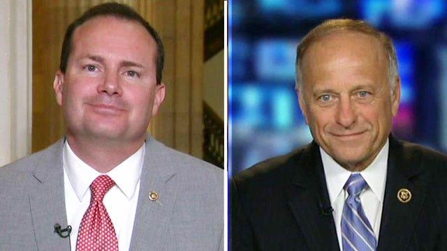 Sen. Mike Lee, Rep. Steve King debate the Patriot Act