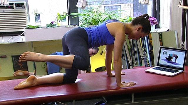 """""""Mommy tummy"""" busting exercises"""