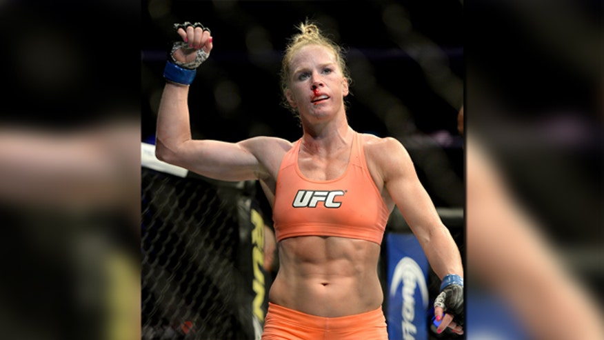 MMA fighter Holly Holm gets a movie deal