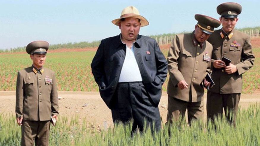Photos show Kim Jong Un surveying the country's farmland and the U.N. warns of another famine in North Korea