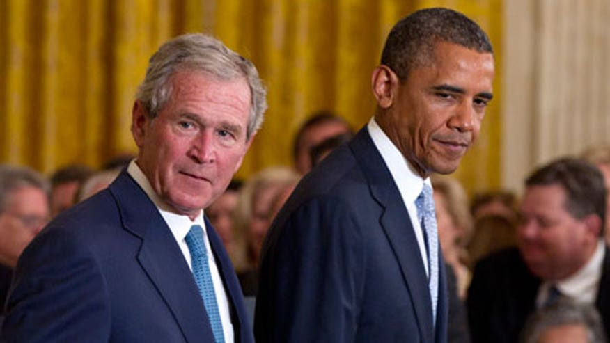 New favorability poll compares George W. Bush and Barack Obama