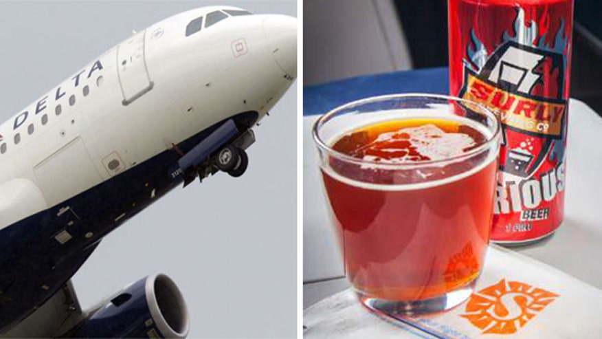 European airline experiments with liquor limit