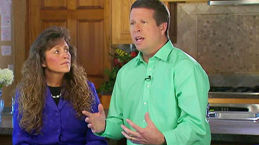 Jim Bob and Michelle Duggar their break silence
