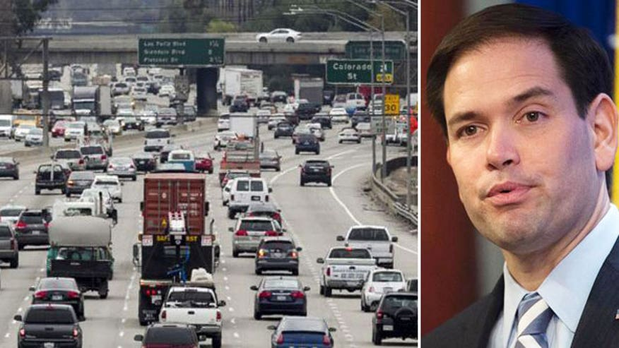 Paper goes after Marco Rubio's record as a driver