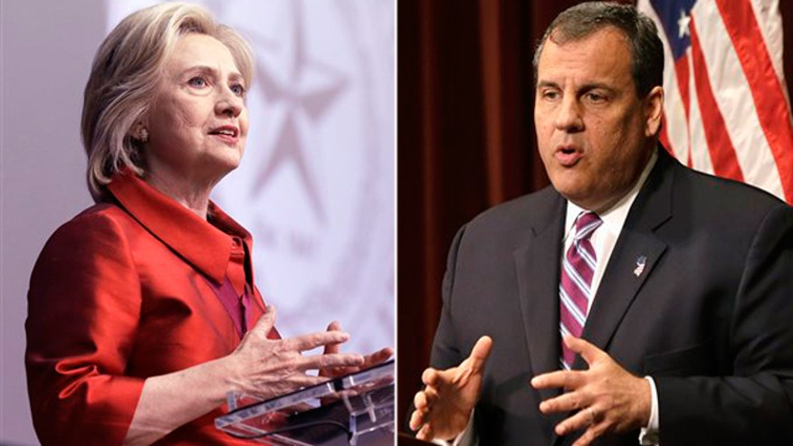 Hillary Clinton's new claims rile Gov. Christie
