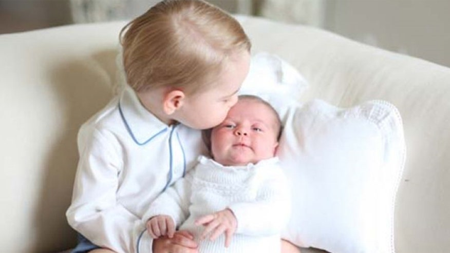 Prince William and Kate release first official photo of Princess Charlotte