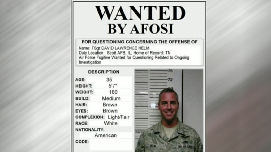 Air Force searching for missing airman scheduled to be court-martialed for various crimes related to sexual abuse