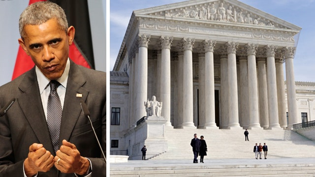 Obama 'bullying' Supreme Court over health care lawsuit?