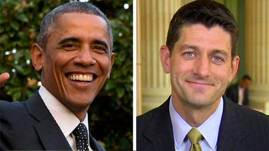 Obama, Chairman Paul Ryan and Republicans actuallyagree on something and want a bill that will fast-track president's ability to negotiate free-trade agreements passed