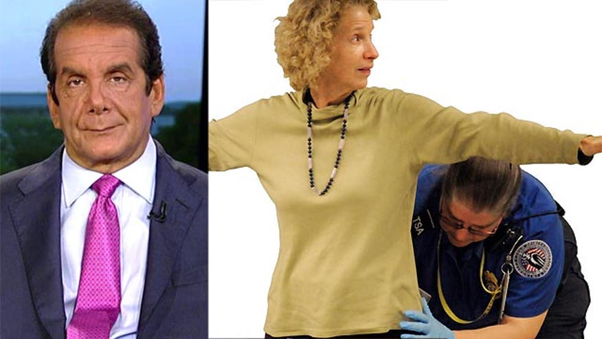 Krauthammer suggests reverse profiling