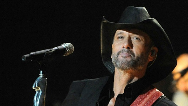 Tim McGraw working on new music and a new movie