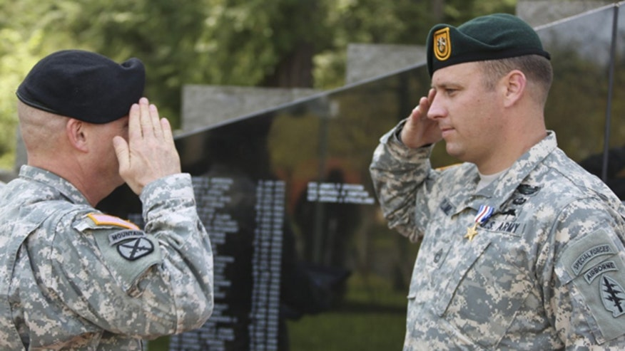 Critics ask if military only wants to honor soldiers with perfect records