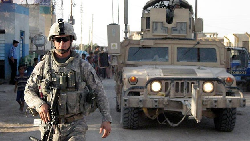 President sends 450 additional troops to Iraq