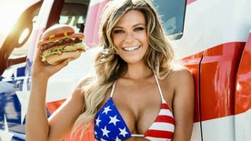 Carl's Jr. model Samantha Hoopes says she loves being a powerful, sexy lady