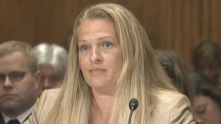 Senior Special Agent with Homeland Security Investigations Taylor Johnson testifies at Senate hearing