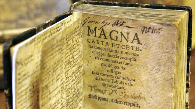 Britain marks the 800th anniversary of the Magna Carta