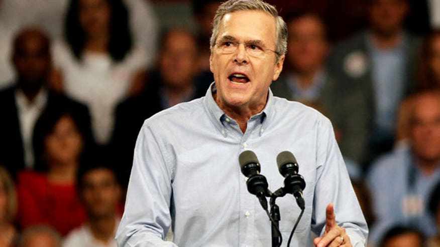 'The Five' debate the merits of Jeb's candidacy