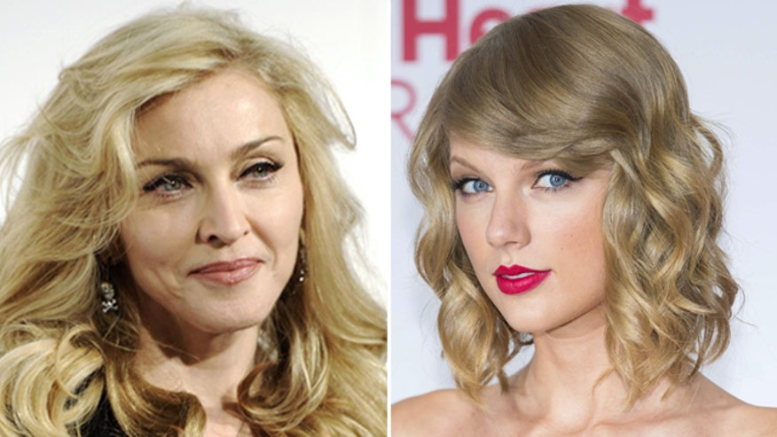 'Bitch I'm Madonna' video features Swift foe Katy Perry, resembles 'Bad Blood' video